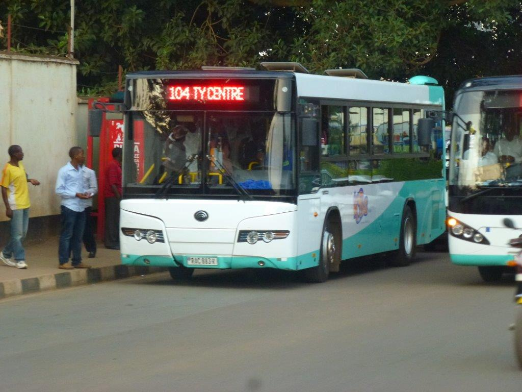 City buses are agreeably new, smart, and operate from a central point with a lot of respect. The language most spoken is Kinyarwanda.