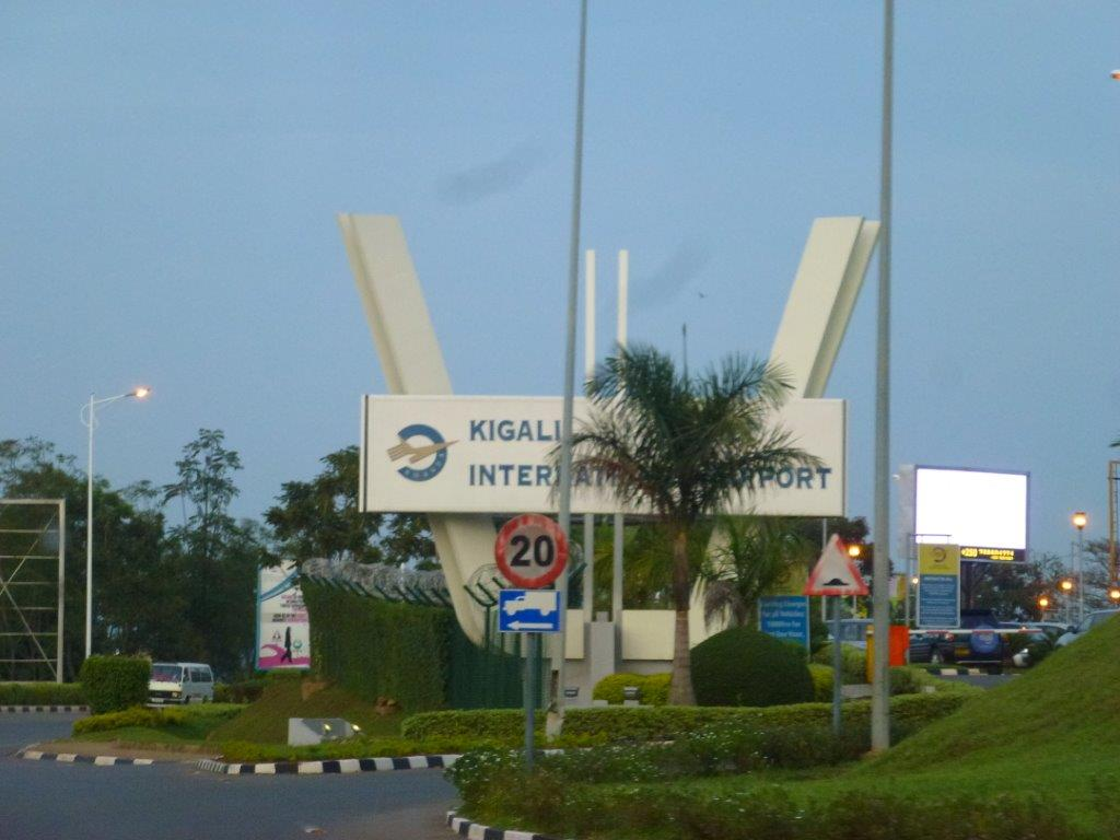 Kigali Airport is 17kms from the city centre.